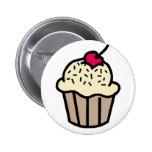 Vanilla Cupcake Pin