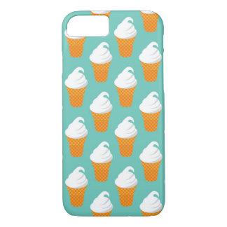 Vanilla Ice Cream Cone Pattern iPhone 8/7 Case