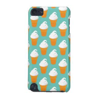 Vanilla Ice Cream Cone Pattern iPod Touch 5G Cases