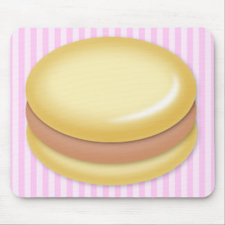 Vanilla Macaron Mouse Mat