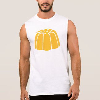 Vanilla pudding sleeveless shirt