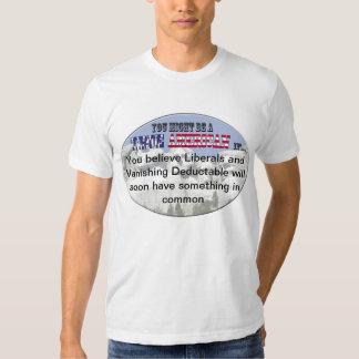 Vanishing Liberals Tee Shirt