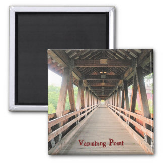 Vanishing Point Square Magnet