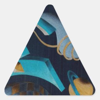 Vanishing Shapes III Stickers