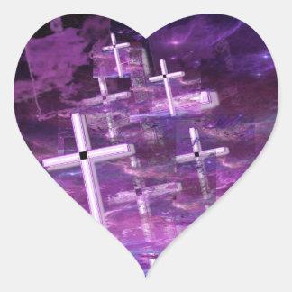 Vanishing Souls. Heart Sticker