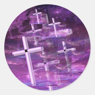 Vanishing Souls. Classic Round Sticker