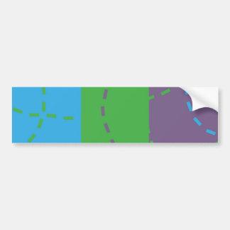 Vanishing Trails B/P/G Bumper Sticker