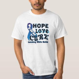 vanishing white matter Awareness T Shirts