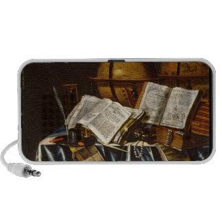 Vanitas Still Life - Adam Bernaert 1665 Notebook Speaker
