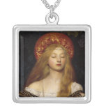 Vanity - A Mediaeval Maiden Pendant