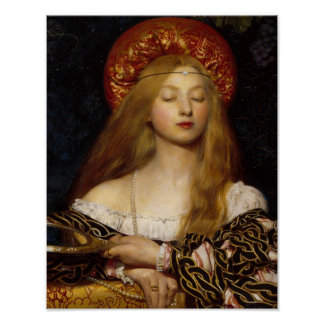 Vanity - A Medieval Maiden Poster