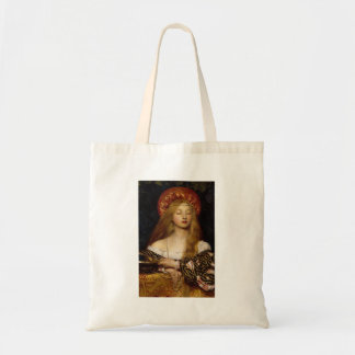 Vanity - A Medieval Maiden Budget Tote Bag