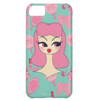 Vanity Blue Pink Hair Girl iPhone 5 Phone Case iPhone 5C Covers