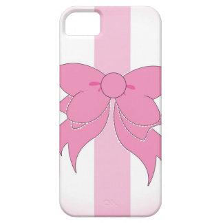 Vanity Bow Stripes iPhone 5 Case