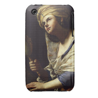 Vanity, c.1650-70 (oil on canvas) iPhone 3 Case-Mate cases