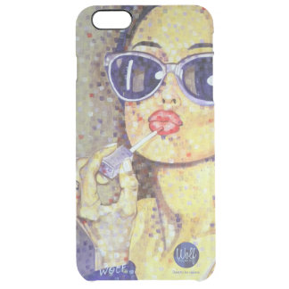 Vanity - Dare to be Square Clear iPhone 6 Plus Case