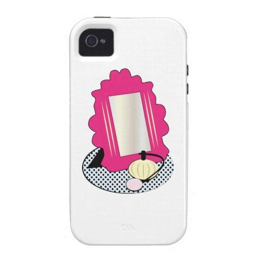 Vanity Mirror Base iPhone 4/4S Covers