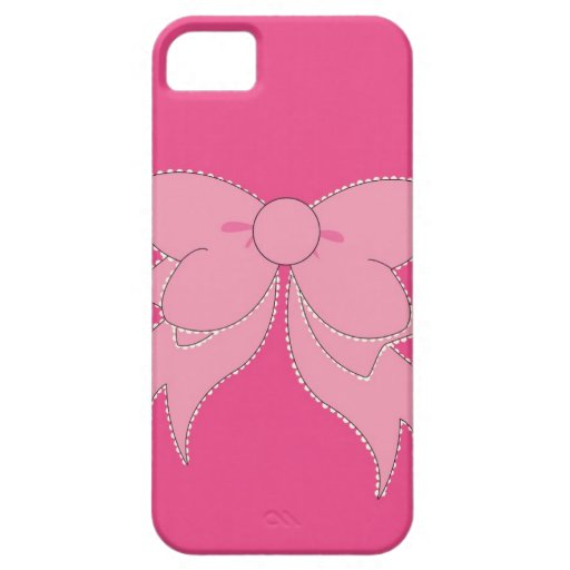 Vanity Pink Bow iPhone 5 Phone Case iPhone 5 Cases