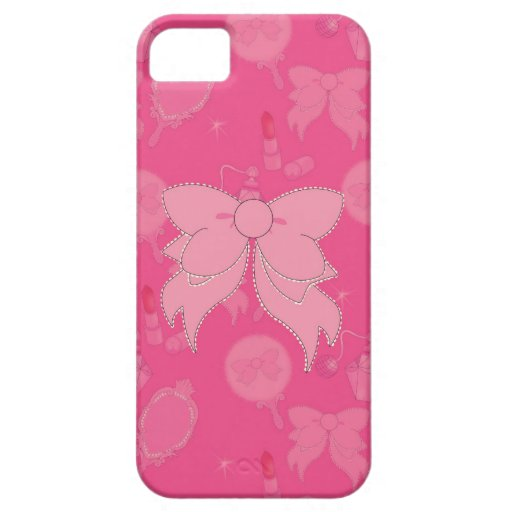 Vanity Pink Bow iPhone 5 Phone Case iPhone 5 Cover