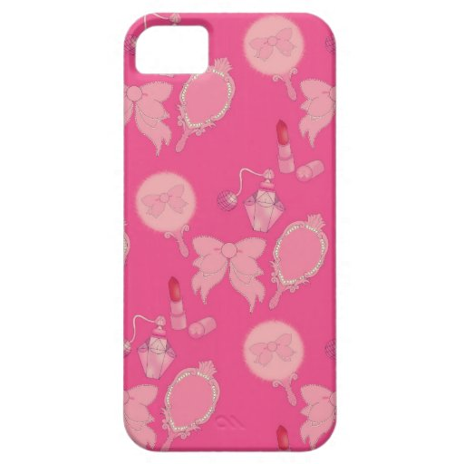 Vanity Pink Girly iphone 5 Phone Case iPhone 5 Cover