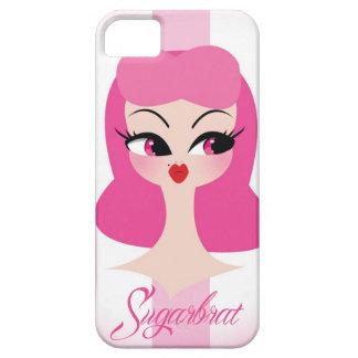 Vanity Pink Hair iPhone 5 Phone Case