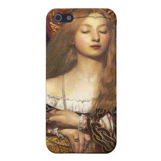 Vanity Pre-Raphaelite Woman iphone case iPhone 5 Cases