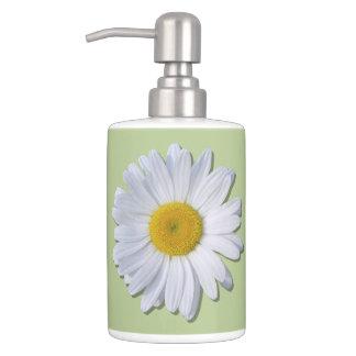 Vanity Set - New Daisy on Sage