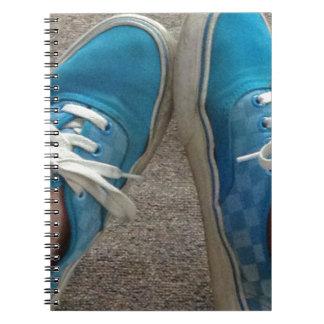 vans shoes blue journals