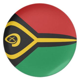 Vanuatu Fisheye Flag Plate