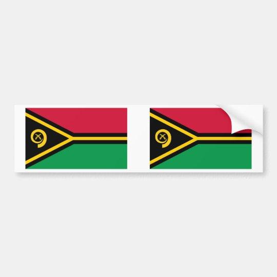 Vanuatu Flag Bumper Sticker