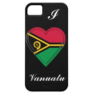 Vanuatu flag iPhone 5 cases
