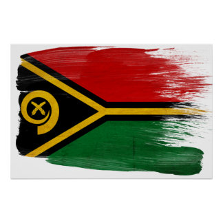 Vanuatu Flag Posters