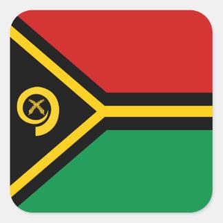 Vanuatu Flag Sticker