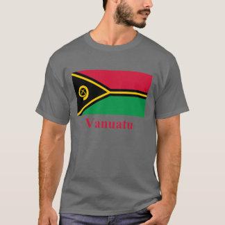Vanuatu Flag with Name T-Shirt