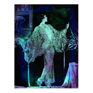 Vanya - Blue Green Dream Postcard