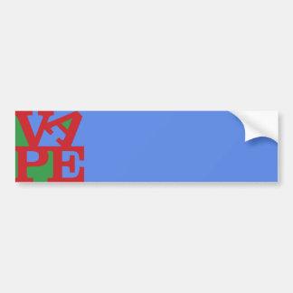 Vape bumper sticker