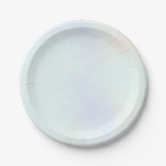 Vape Clouds Personalized Paper Plate