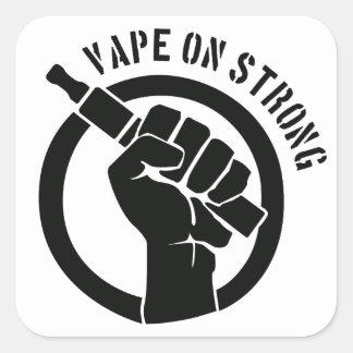 Vape On Strong Square Sticker