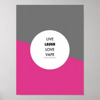 Vape Quotes Premium Poster