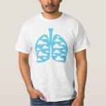 Vaping Clean Clouds Lungs Vape T shirt