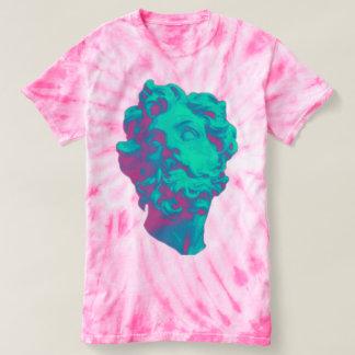 Vaporwave Aesthetic Glitch Statue Women T-Shirt