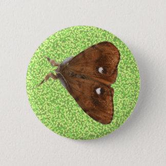 Vapourer Moth Button