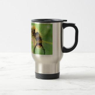 vapourer moth ( caterpillar ) stainless steel travel mug