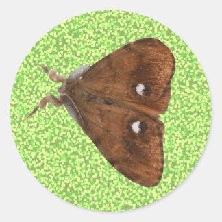 Vapourer Moth Sticker