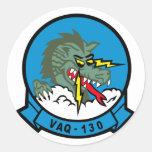 VAQ-130 Zappers Classic Round Sticker