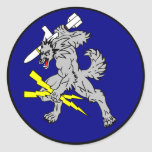 VAQ-142 The Grey Wolves Round Stickers
