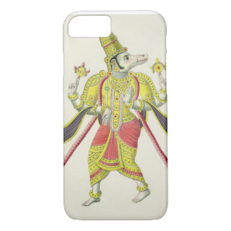 Varaha, engraved by de Marlet (colour litho) iPhone 8/7 Case