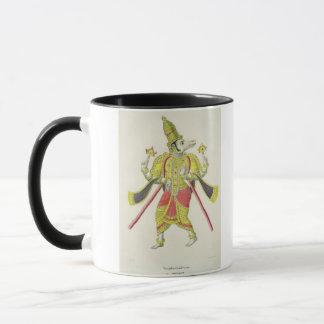 Varaha, engraved by de Marlet (colour litho) Mug