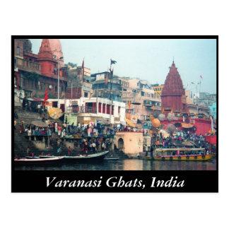 Varanasi Ghats Postcard