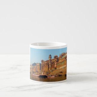 Varanasi India As Seen From Ganga River Espresso Mug